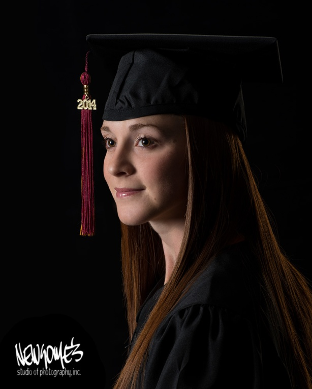 The Traditional Cap & Gown Portrait.