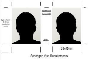 Schengen Visa Photos, Tampa