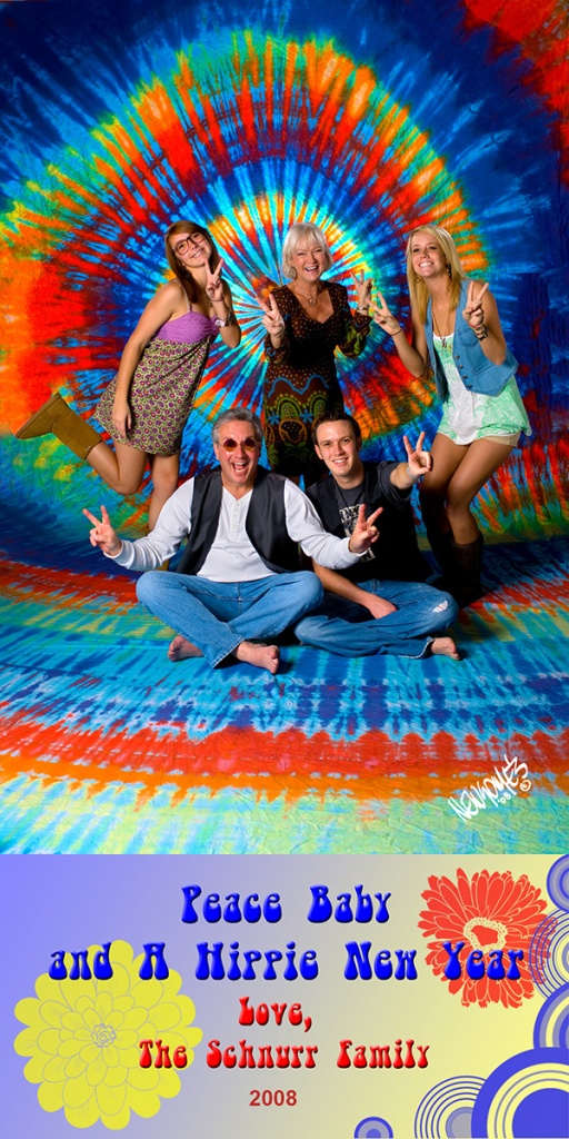 Peace, Baby, and Have a Hippy New Year!