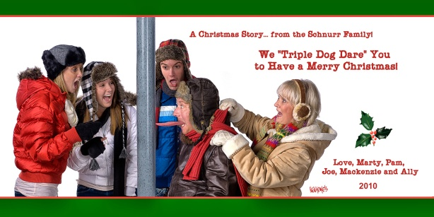 We Triple Dog Dare You to Have a Merry Christmas!