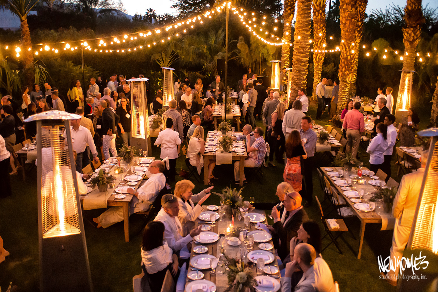 corporate event photographer newsome s studio of photography inc garden party dinner
