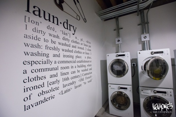 The Landry Room. Now why doesn't EVERY company have one of these?