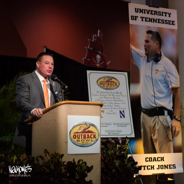 UT Coach Butch Jones